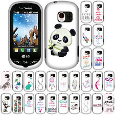 For Verizon LG Extravert VN271 Forever Young Snap On Hard Case Cover Accessory