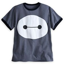 Big Hero 6 Baymax Gray Short Sleeved Cotton T-shirt Boy Kids Shirt