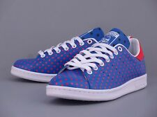 competitive price de3d4 937bc ADIDAS X PHARRELL WILLIAMS PW STAN SMITH SPD POLKA DOTS BLUE RED B25400