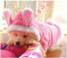 Pet Dog Cat Cute Bunny Clothes Warm Clothes Autumn Winter Puppy Costumes Apparel