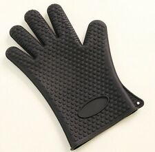 Silicone Kitchen Heat Resistant Glove Oven Pot Holder Baking BBQ Cooking Mitts *