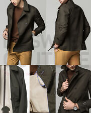 MASSIMO DUTTI (ZARA GROUP) SS15 KHAKI DUFFLE COAT JACKET REF.3434/319