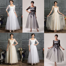 2015 CHEAP Long VTG Cocktail Wedding Dresses Mother Of The Bride Prom Party Gown