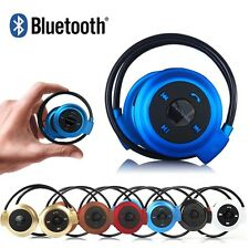 Wireless Bluetooth Stereo Headset Headphone Handsfree For iPhone Samsung  HTC LG