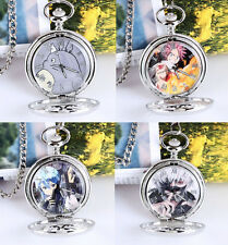 Sword Art Online GGO watch Tokyo Ghoul TOTORO Fairy Tail Pocket Watches 6styles
