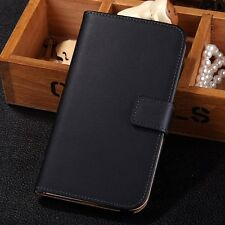 Luxury Genuine Real Leather Flip Case Cover For Samsung Galaxy Note III 3 N9000
