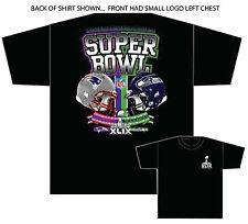 "SUPER BOWL XLIX  T Shirt 2015 Patriots vs. Seattle "" ALL SIZES "" FREE SHIPPING"