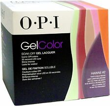 OPI GelColor Add-On Kit Hawaii Collection # 2 (6 NEW COLORS) READY TO SHIP