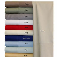 Bamboo Olympic Queen Size Sheet Set 100%Viscose From Bamboo Super Soft