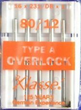 Klasse Overlocker Needles, Serger Needles, Machine Reference Lookup, Quality