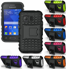 GRENADE GRIP RUGGED SKIN HARD CASE COVER STAND FOR SAMSUNG GALAXY YOUNG-2 G130