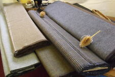 Quality Woven 100% Wool Tweed Vintage Fabrics 50x48cm