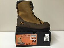 "Timberland Pro 88530  Lace Rigger 8"" Steel Toe Waterproof Work Boots NEW"