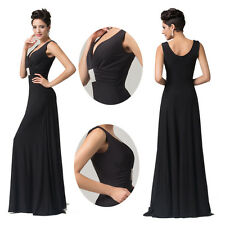 BIG SALE RETRO BLACK Ceremony Party Formal Evening Ball Gowns Long Prom Dresses