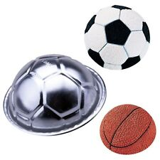 3 Sizes Aluminum Birthday Cake Baking Tin Jello Chocolate Football Pan Mold #T