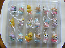 COTTONTALE Collection Easter tree 18 mini ornaments indoor decorations Spring
