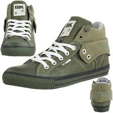 British Knights ROCO BK Men's Sneakers green canvas olive