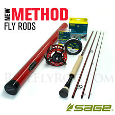 """NEW - Sage Method 890-4 Fly Rod Outfit (9'0"""", 8wt, 4pc) - FREE SHIPPING!"""