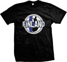 Finland- Finnish Ethnic Pride Country Colors Nationality Mens T-shirt