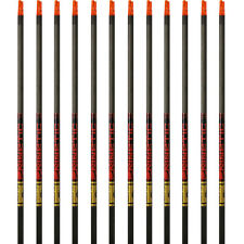 Gold Tip Arrows Hunter Kinetic 300 340 400 500 1 Dozen Black Shafts Insert Nock