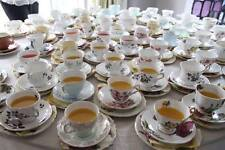 VINTAGE Tea cups, saucers teapots FOR HIRE wedding baby shower christening ESSEX