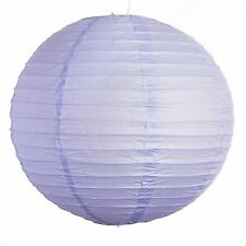 """Lavender Paper Party Wedding Lanterns - 12"""", 16"""" and 20"""" sizes"""
