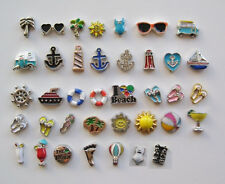 Floating Charms for Lockets - BEACH, NAUTICAL, SUMMER!