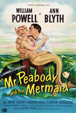 Mr Peabody And The Mermaid - Movie Poster