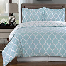 Meridian Blue Duvet cover set 100%Egyptian Cotton (Available in 3 Sizes)