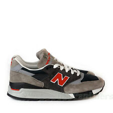 """New Balance Made in USA """"Day Tripper"""" M998GGO (Grey/Red) Men's Shoes"""