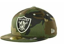 Official Oakland Raiders New Era NFL Camo Pop 59FIFTY Hat