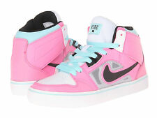 Nike RUCKUS 2 High Top LR GS Shoes Pink/Blue/White Skate Size 6.5 Youth/Girl's