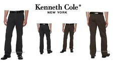 Kenneth Cole New York Men's Brushed Twill Pant, NEW! Tonal Texture