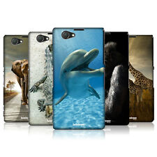 HEAD CASE DESIGNS WILDLIFE HARD BACK CASE FOR SONY XPERIA Z1 COMPACT D5503