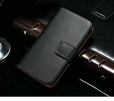 Genuine Luxury Real Leather Flip Wallet Case Cover For LG Google Nexus 4 E960