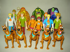 Scooby-Doo Shaggy Fred Velma Daphne Animated Series Action Toy Figures - VGC