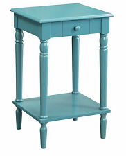 Convenience Concepts French Country 1 Drawer End Table