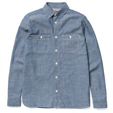 CARHARTT SS15 LS CLINK SHIRT RINSED BLUE CHAMBRAY NEW