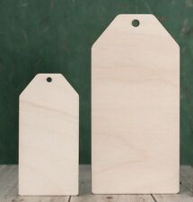 Wooden luggage tags. Rustic labels for jars, weddings, hangers and gift tags.