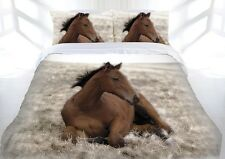 Beautiful Babe Horse Pony Quilt Doona Cover Set - SINGLE DOUBLE QUEEN KING