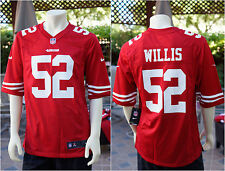 Nike NFL San Francisco 49ers Games Jersey Patrick Willis 52 RED M L XL XXL