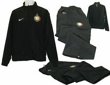 Nike Mens INTER MILAN Football Club Tracksuit Black AUTHENTIC