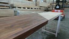Prime Black American Walnut Solid Wood Worktop 40mm staves, All sizes available!