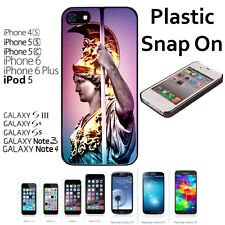 Pallas Athena Greek Goddes Case For iPhone 4S/5/5S/5C/6/6+Galaxy S4/S5-Snap On