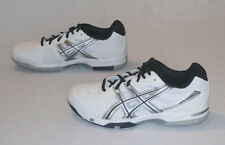 Asics Gel Game 4 Men's Tennis Shoes White/Silver/Navy E306Y New In Box