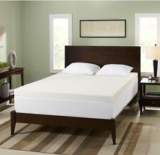 2 3 4 Inch Memory Foam Mattress Bed Pad Topper Cover Twin Xl Full Queen King