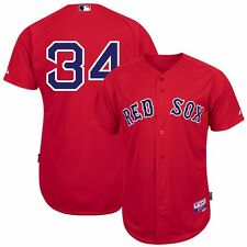 2015 David Ortiz Boston Red Sox Authentic On-field Alt Red Cool Base Jersey