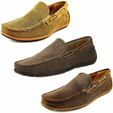 GBX FILMORE Mens Corduroy Slip On Casual Loafer Driving Moccasins Shoes