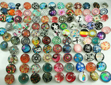 new Alloy Mix Round Chunks Snap Button Charm fit Nosa Bracelet Wholesale charm