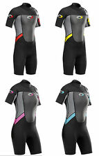 Adults Ladies and Mens Osprey Origin 3/2mm Short Sleeve / Shorty Wetsuit